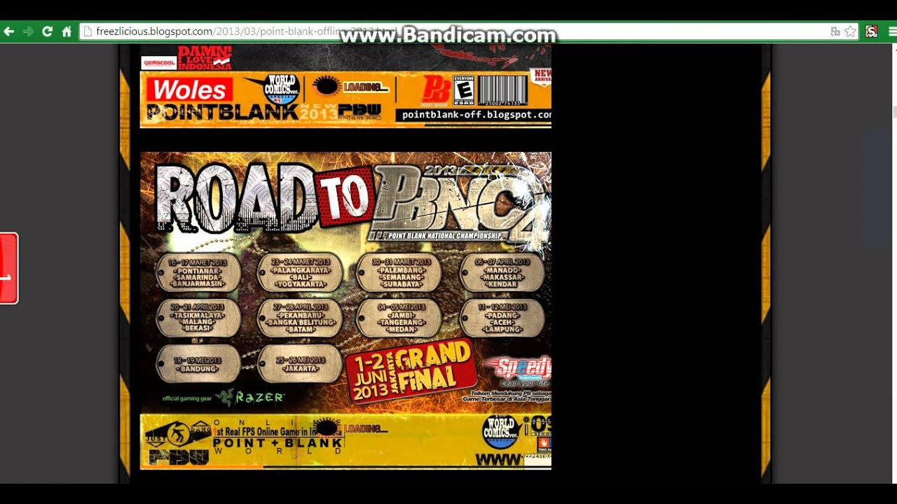 Cara membuat games sederhana: download point blank offline (pb.