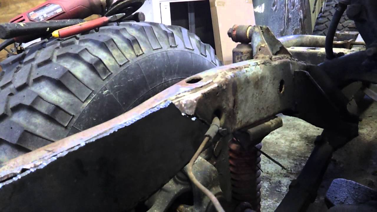 project cj5 - frame repair (part 1) - youtube  youtube