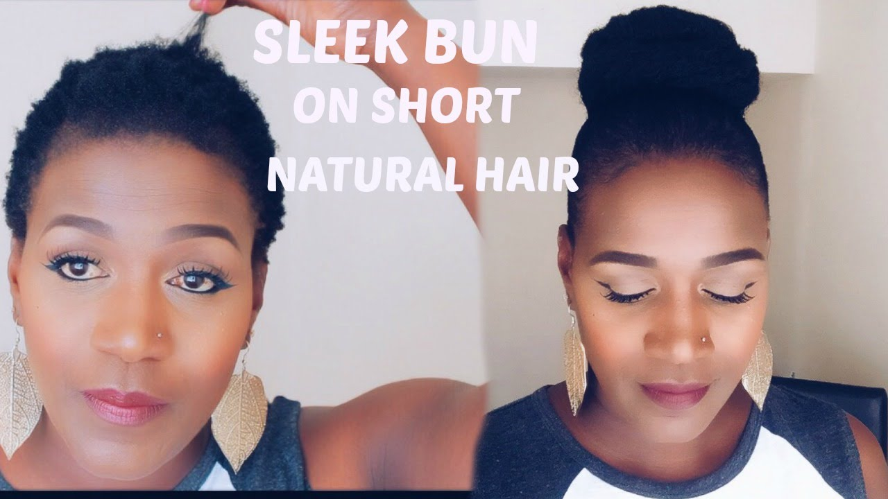 styling products for natural hair sleek bun on hair ft gorila snot gel 1140 | maxresdefault