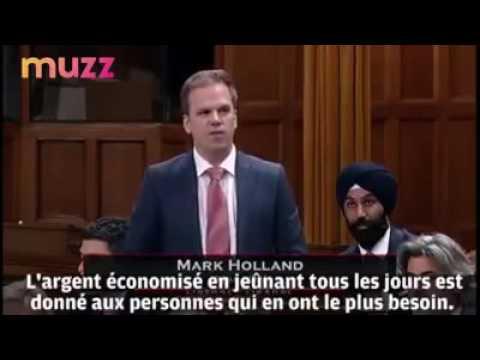 Mark Holland, député canadien libéral, annonce qu'il jeûnera pendant le Ramadan