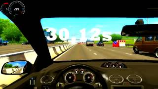 City Car Driving 1.2.4: 0-200 Km/h