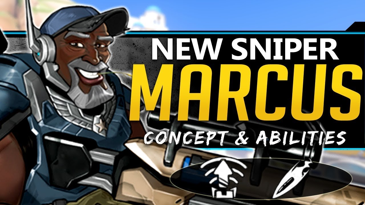 Download Overwatch NEW DPS Hero Marcus - Concept, Lore, Abilities, and more!