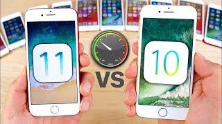 IOS 10 VS IOS 11 VS IOS 12 IPHONE 6