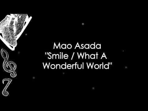 Mao Asada Smile What A Wonderful World Music Youtube