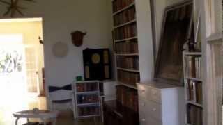 Library Ernest hemingway house   Finca Vigia  havana cuba    part 1