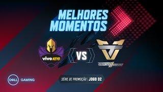 CBLoL 2019 - 1ª Etapa - Melhores Momentos VK x ONE - Série de Promoção (Jogo 2) (by Dell Gaming)