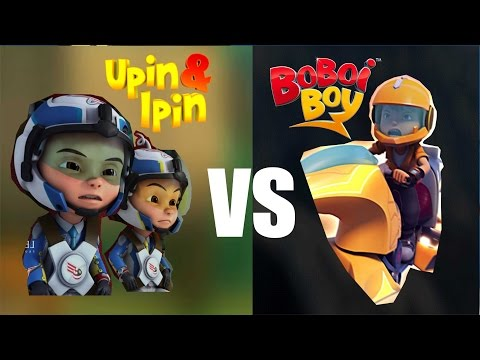 Game Boboiboy Galaxy VS Game Upin dan Ipin Keren..!!!  (GamePlay)