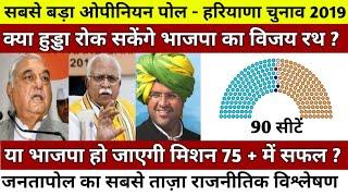 #OpinionPoll #Haryana2019 #हरियाणा विधानसभा चुनाव | क्या हुड्डा रोक सकेंगे भाजपा का विजय रथ ?