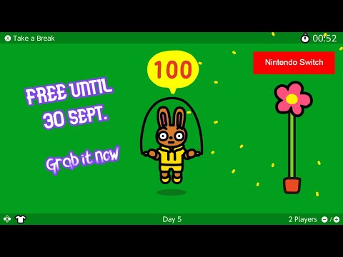 Jump Rope Challenge - – Nintendo Just Launched A New Game And You Can Download IT for Free (SWITCH)