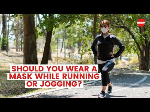 Should You Wear A Mask While Running Or Jogging? | BOOM