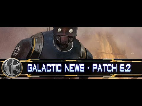 Lets Play SWTOR ★ Patch 5.2 ★ Galactic News #001