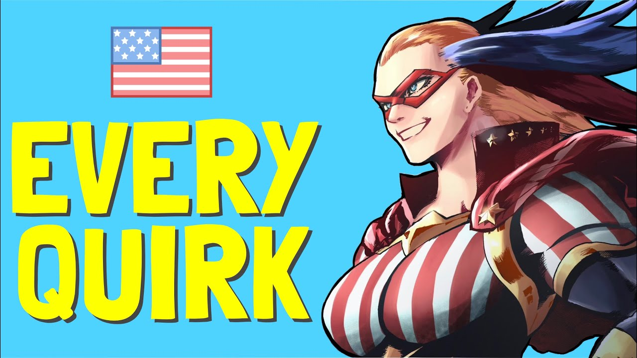 Download All AMERICAN QUIRKS in History EXPLAINED! 🗽 | My Hero Academia