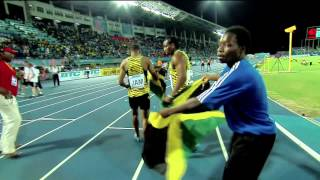 Jamaica Sets Mens 4x200 Meters World Record