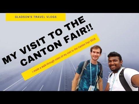 VLOG - Walk-through Canton Fair 2018