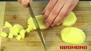 Суп-пюре грибной в мультиварке-скороварке REDMOND RMC-M4504