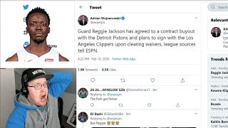 Reacting To Reggie Jackson Contract Buyout Signing With LA Clippers