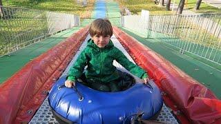 Best Playground Slide Ever - FUN | Arcadius Kul