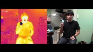 実験・アイスを食べると涼しくなるのか(プTV) thumbnail