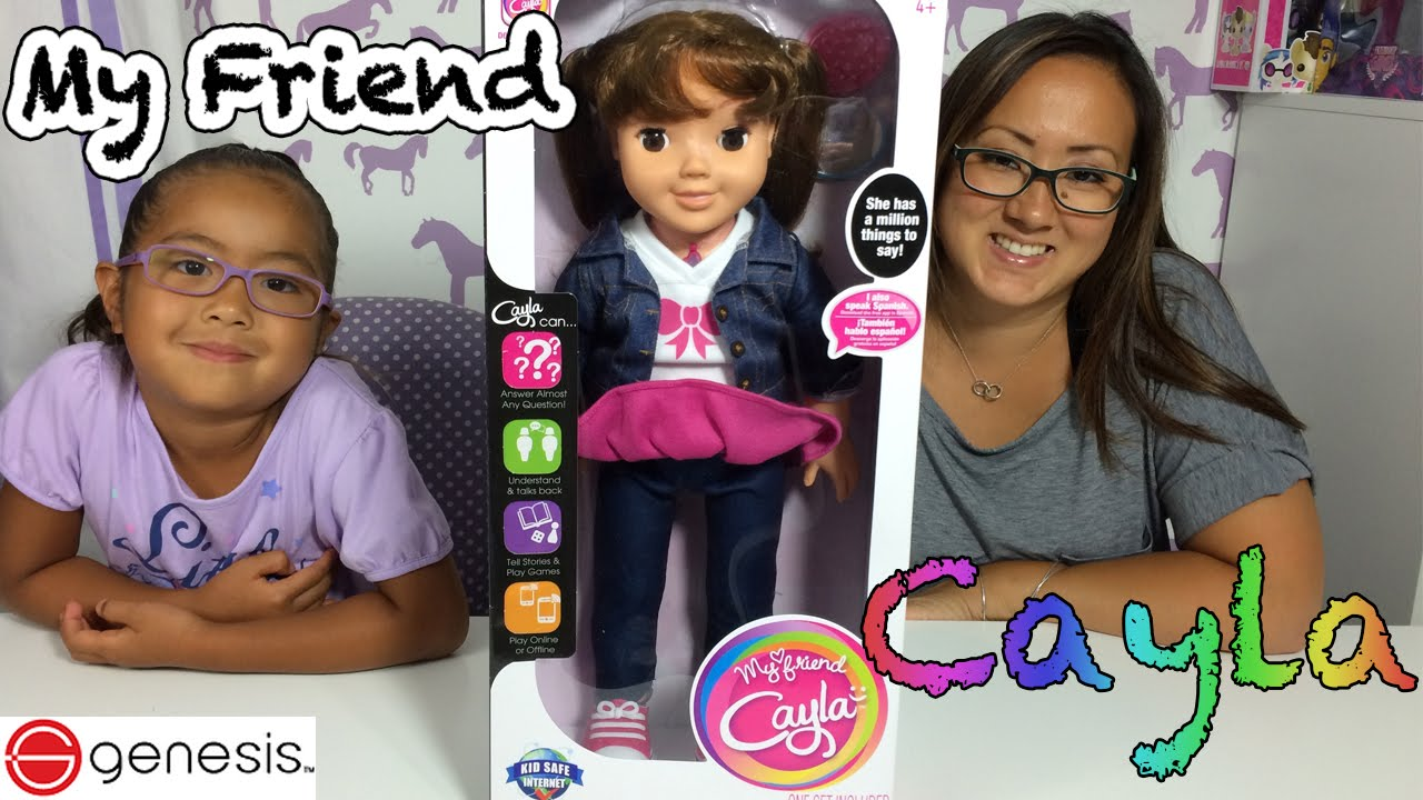 Friend Doll Us Review Ipad Interactive 2015 With My Cayla Gameplay Version N8n0mwyvO