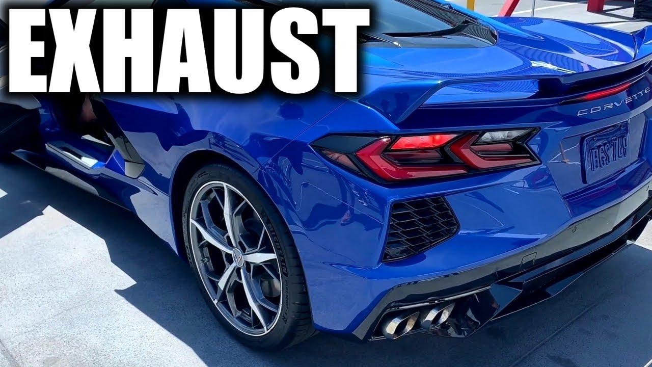 2020 c8 corvette exhaust sound revs