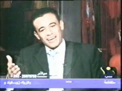 الدكتور إبراهيم عافية ضيف أحد البرنامج الثقافيبة بقناة النيل الثقافية 2009م