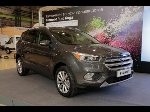 Новый Форд Куга 2017 и ЭкоСпорт 2017 новое оборудование, старт сборки и цены