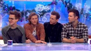 McFly - Tom Danny Dougie Harry - INTERVIEW + live performance LOOSE WOMEN - 6th Dec 2013