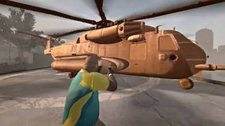 Left 4 Dead 2 - Chocolate Helicopter Mod