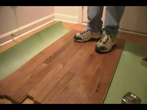 Hardwood Flooring With Clips You
