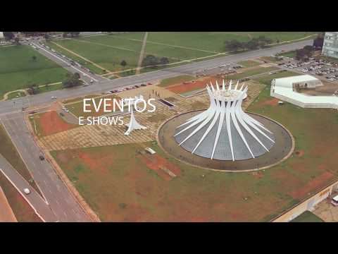 Drone em Brasília - fotos e filmagens aéreas para casamentos imóveis eventos