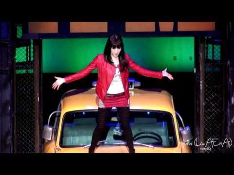 [Fancam] SNSD Tiffany :: 120108 Musical『FAME』 - Curtain Call