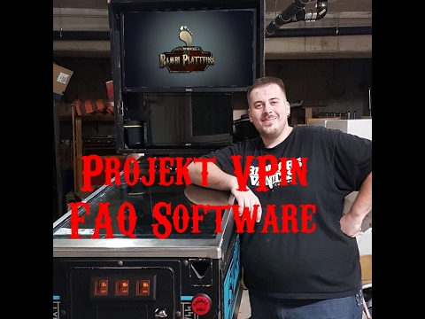 Projekt VPin - FAQ Software  (with eng subtitles)