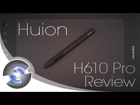 Huion H610 Pro Review - YouTube