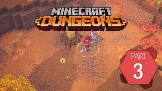 """Minecraft Dungeons: Playthrough Part 3 of 9 """"Pumpkin Pastures"""""""