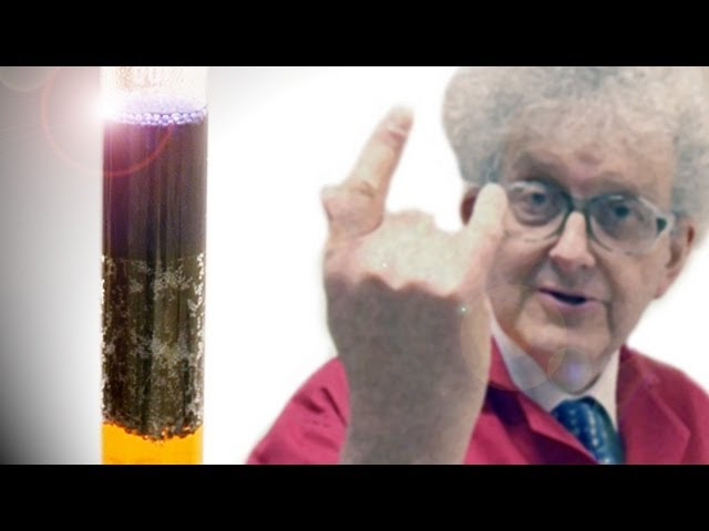 Losing fingers to chemistry - Periodic Table of Videos