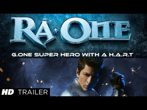 """Ra.One Trailer""   Starring Shahrukh Khan"