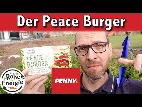 PEACE BURGER von PENNY: Wie schmeckt vegane Burger für 1 EUR?