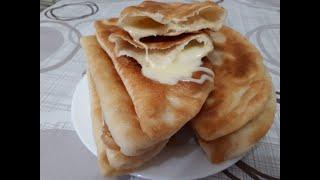 Лепешки с сыром на сковороде рецепт