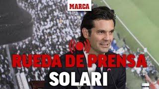 Revive la rueda de prensa de Solari I MARCA