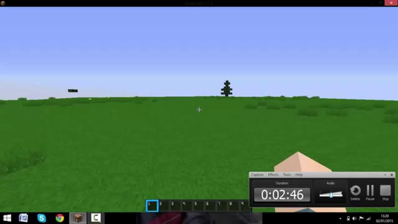 Plano De Fundo Minecraft: Minecraft Como Aumentar Profundidade Do Mundo Plano 2015