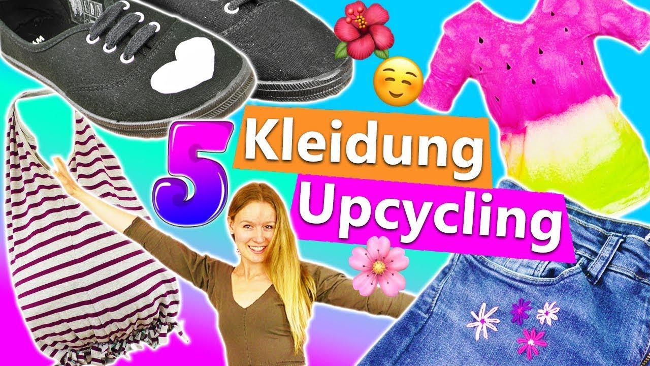 5 kleidungs upcycling diy ideen einfache t shirt hacks. Black Bedroom Furniture Sets. Home Design Ideas