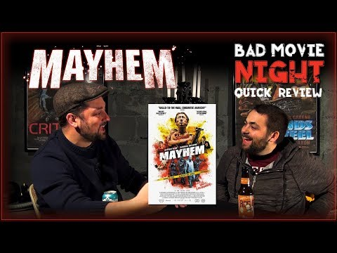 Mayhem (2017) Movie Review streaming vf