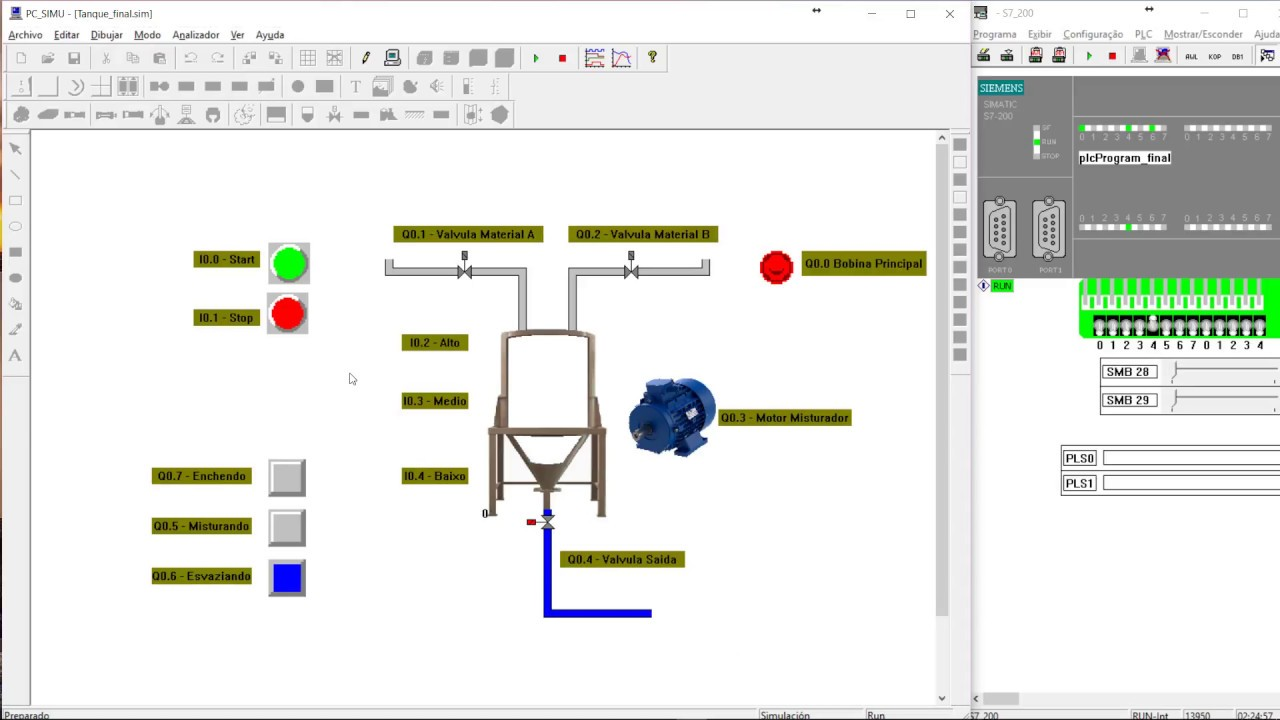 Plc mixing process ladder and simulation youtube plc mixing process ladder and simulation ccuart Gallery