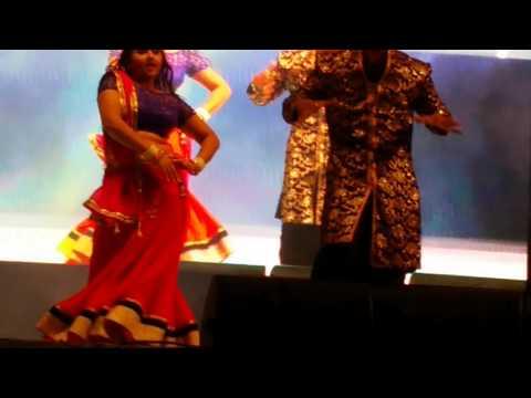 Bhojpuri Hungama Dance Doha Qatar Khesari Lal Yadav with Kajal Raghwani 04-03-2016