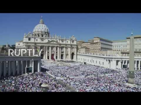 Italy: Pope Francis declares Mother Teresa a saint in Vatican canonisation
