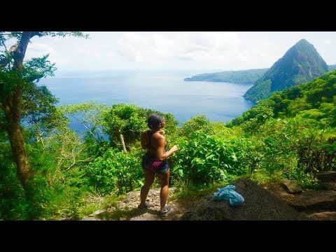 St Lucia Gros Piton Hike + Food issues?! Vlog