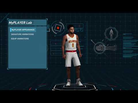How to Equip animations on NBA 2K18