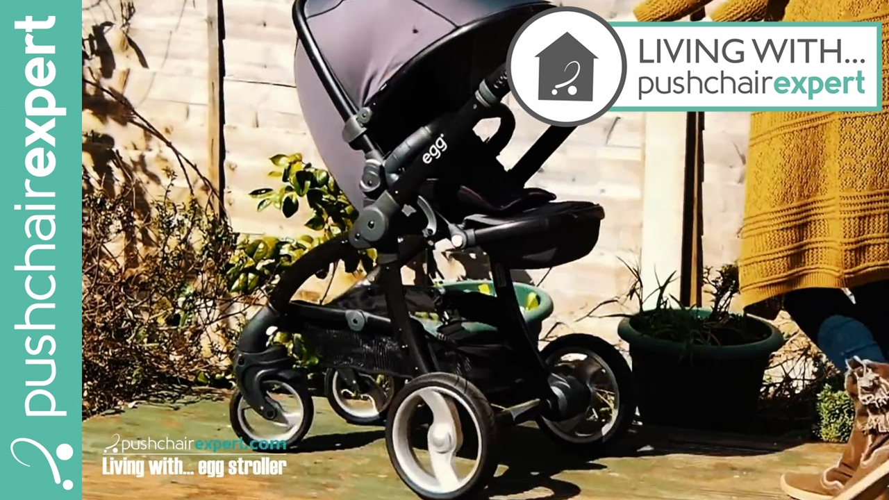 Egg Pram Gunmetal Bryony Murray Living With The Egg Stroller Pushchair Expert