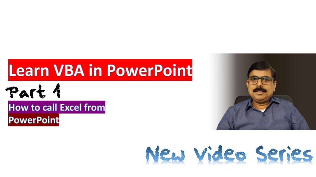 Learn VBA in PowerPoint New Series Part 1