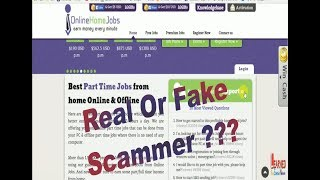 Online home jobs REALITY | fake or real | Full Proof Video Must watch Beginners